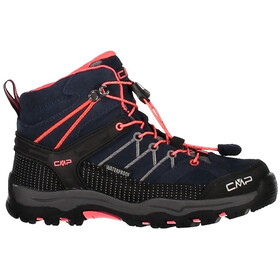 CMP Campagnolo Kids Rigel Mid WP Trekking Shoes Antracite-Red